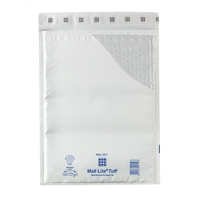 100 Enveloppes à Bulles PLASTIFIEES Type C/0 - Format 150x210 mm