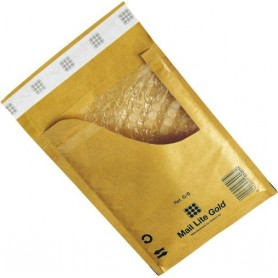 Enveloppes à Bulles Marron - Type A/000 - Format 110x160 mm