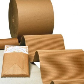 Carton ondulé en rouleau 20x50 (cm x m)