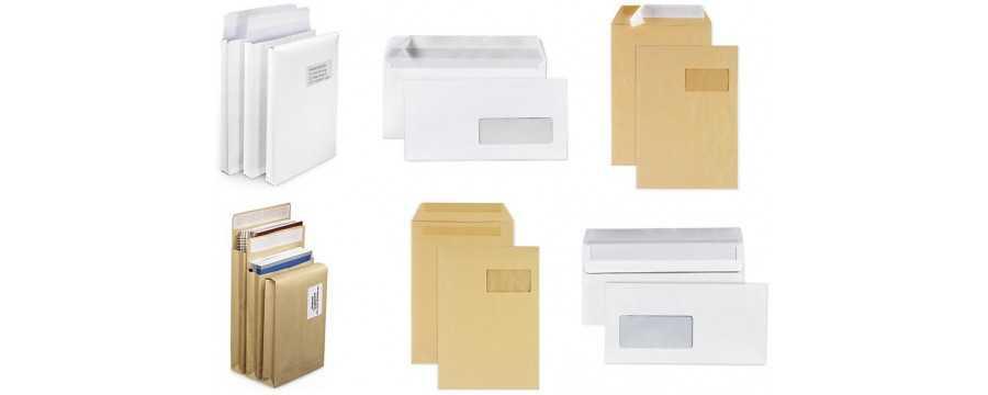 Enveloppes & Pochettes Courrier