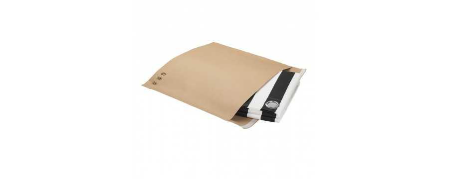 Pochette en papier kraft 125g à soufflet de fond
