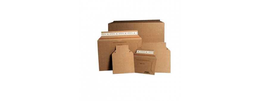 Pochette carton avec ouverture latérale